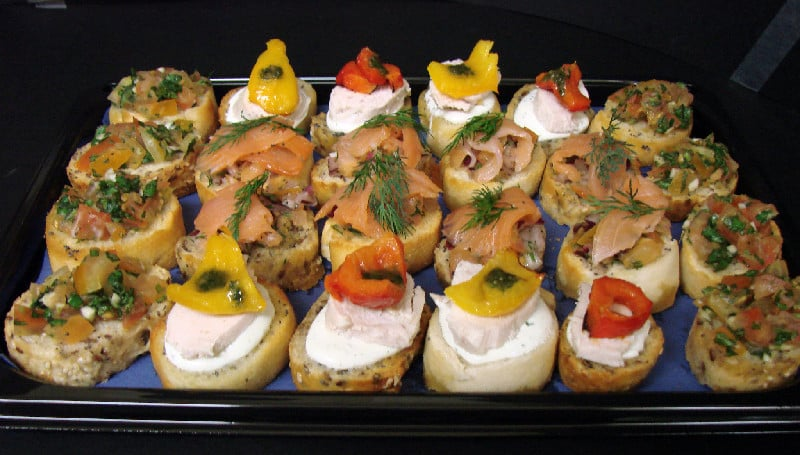 Canapes mannings bakery for Canape history