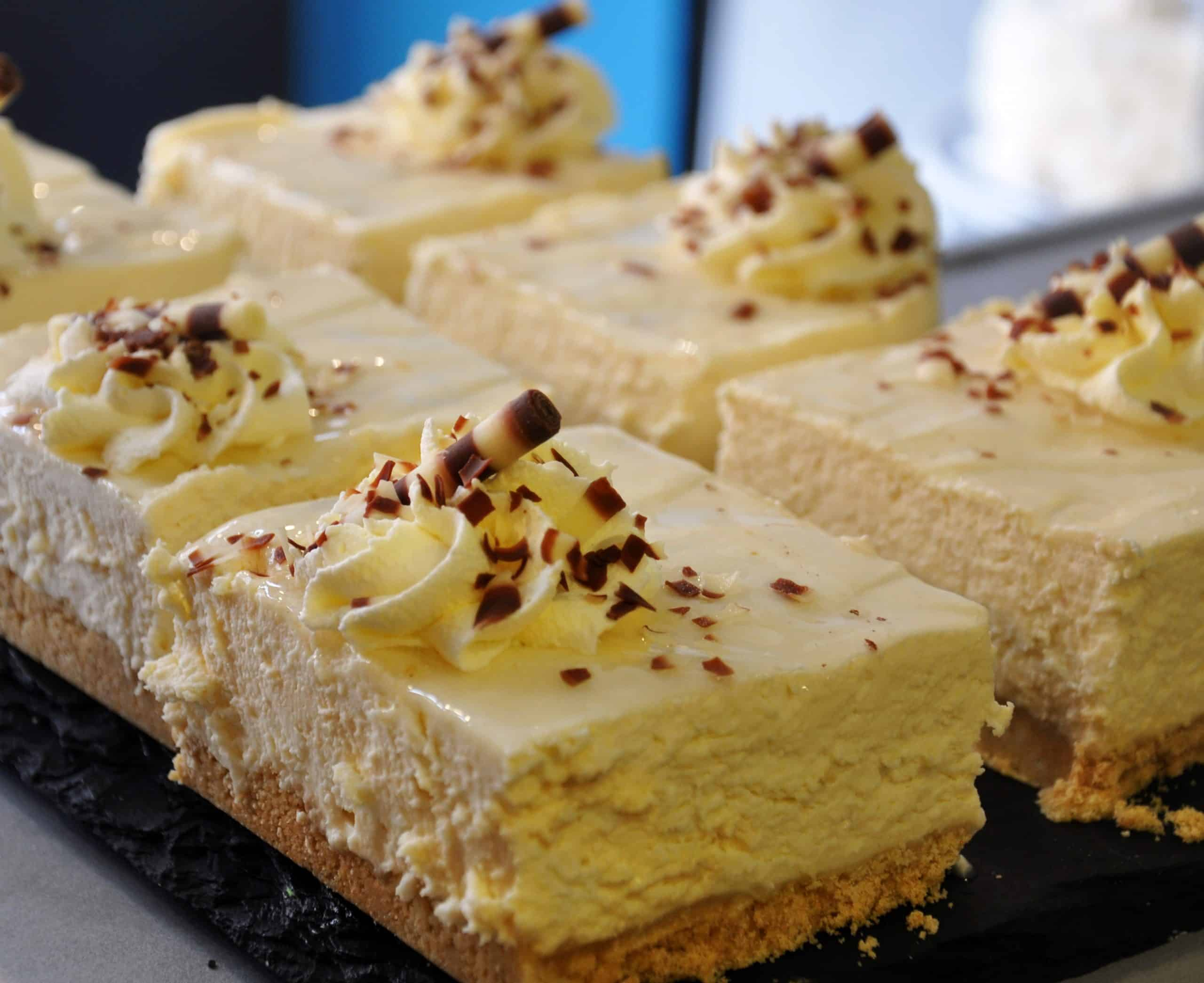 Baileys Cheesecake Slices Mannings Bakery