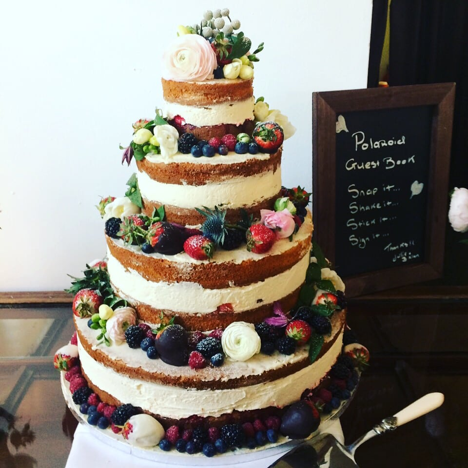 Brian & Julies wedding Cake