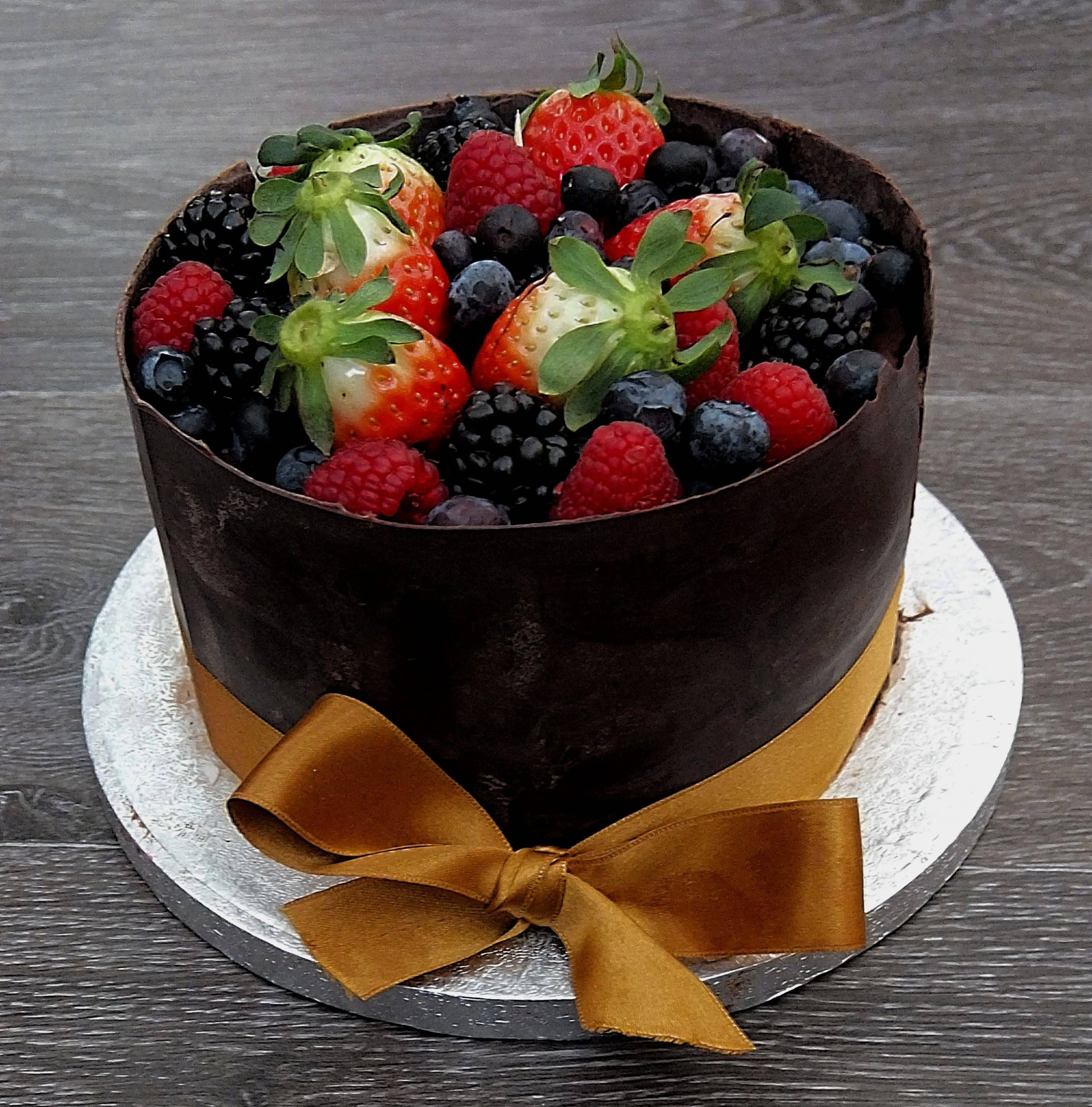 Luxury Chocolate Forest Fruits