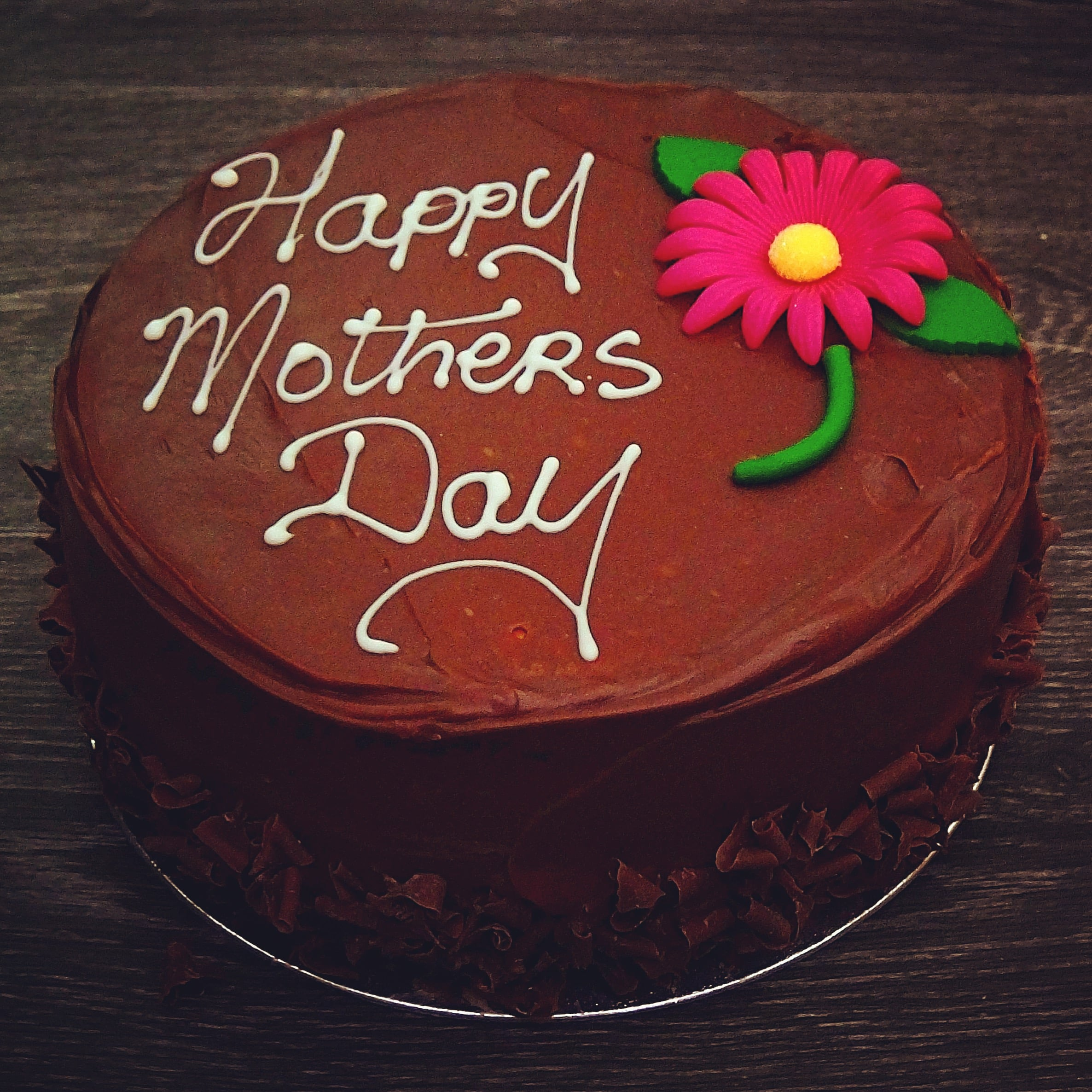 Belgian Milk Chocolate Mothers Day Cake