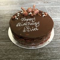 Chocolate biscuit cake Torte