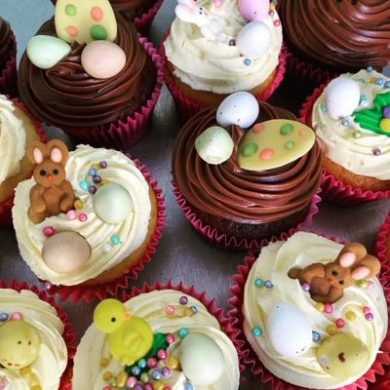 Easter cupcakes image