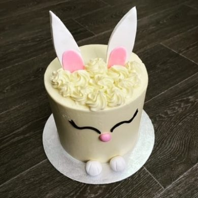 Tall Tier Easter Bunny Cake